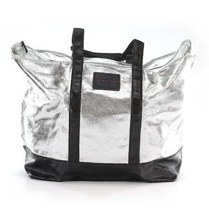 Victoria's Secret Silver Tote Shoulder Bag